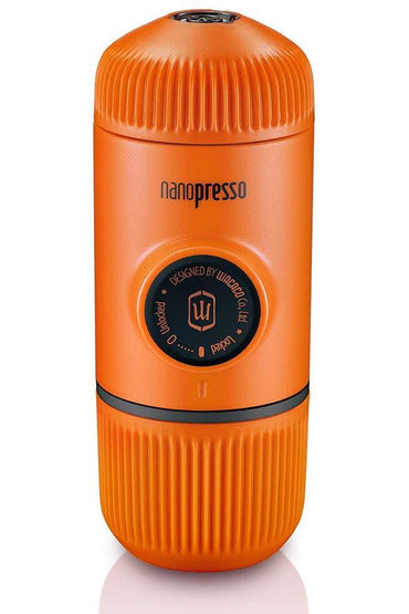 WACACO Nanopresso Portable Coffee Machine+Carrying Bag+Nanopresso NS Adapter - Orange - www.emarketkw.com