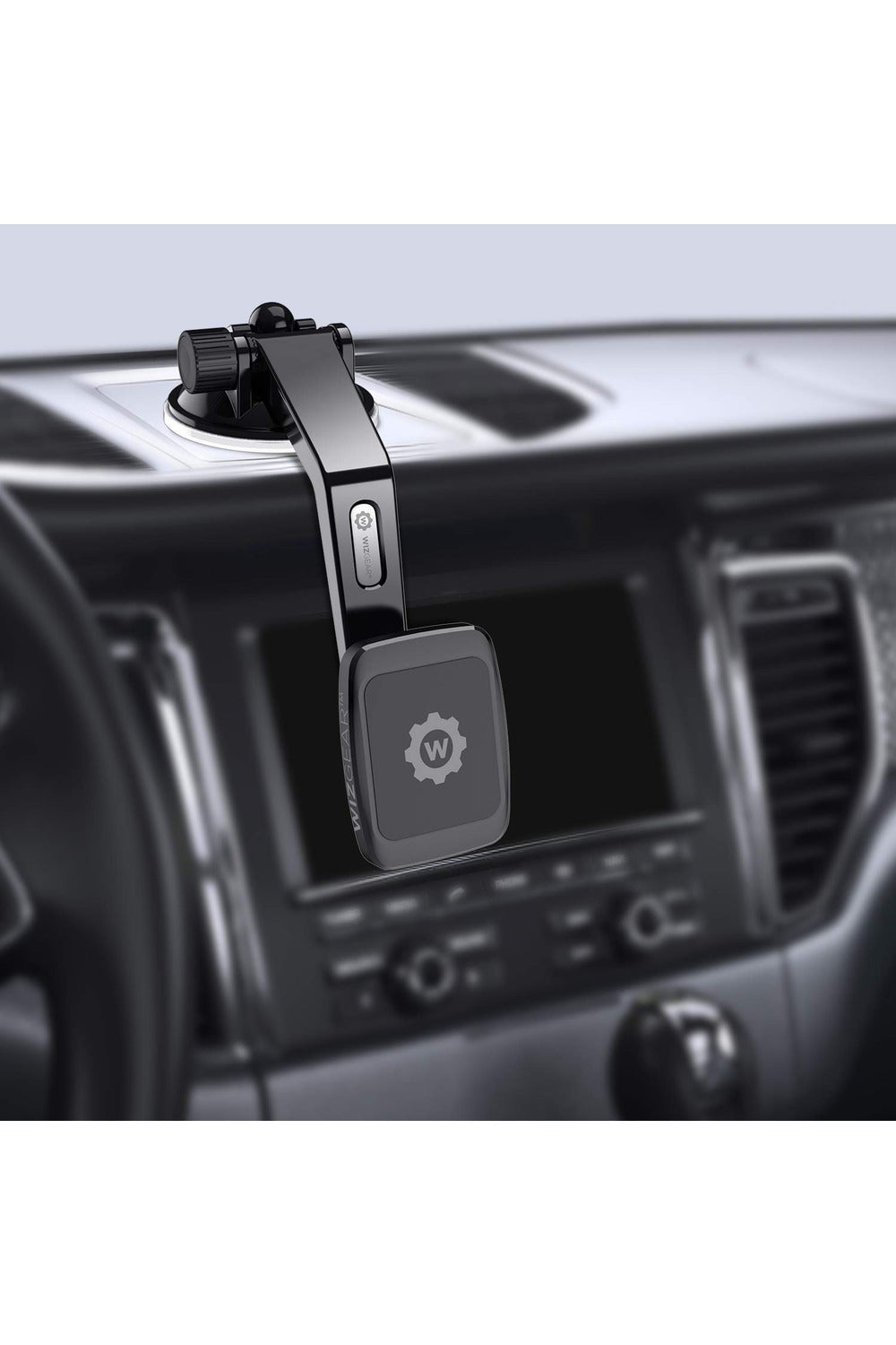 WizGear Magnetic Long Curved Car Mount Long-Curved-(228) - www.emarketkw.com