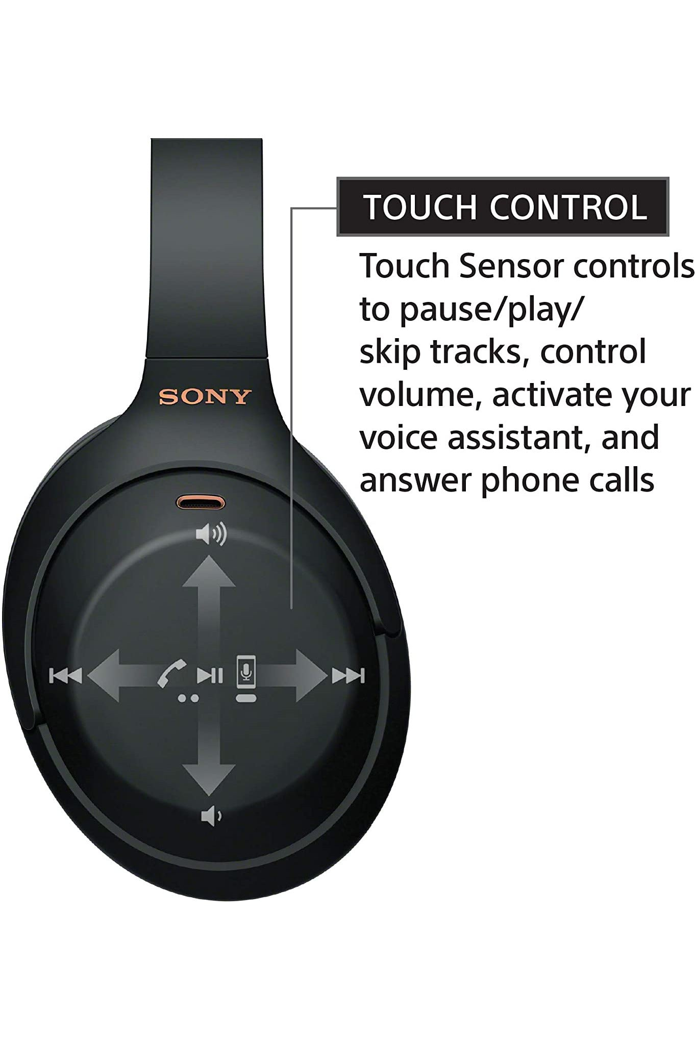 Sony WH-1000XM4 Wireless Industry Leading Noise CancelingOverhead Headphones with Mic Black