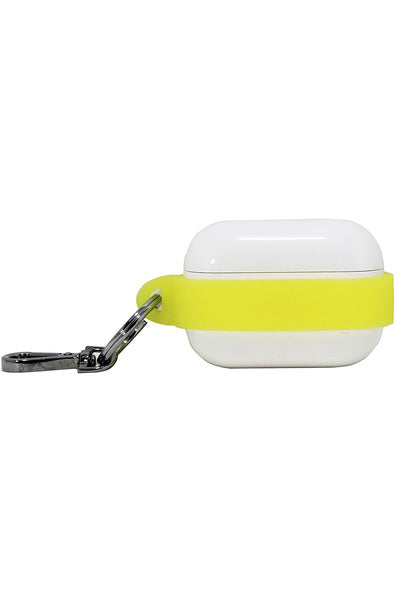 PodPocket Sling for Apple Pro AirPod Case with Keychain - Neon Yellow