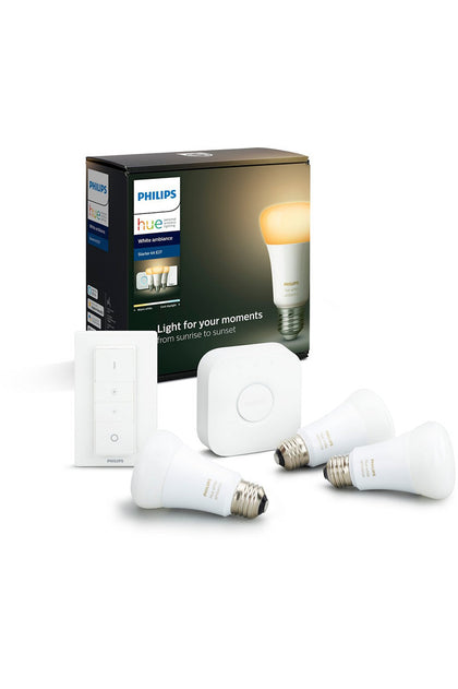 Philips Hue  White Ambiance Starterkit 3 SET E27