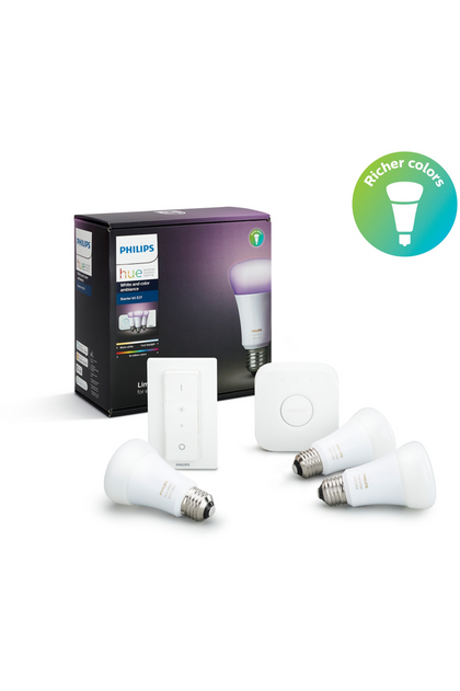 Philips Hue Starter kit E27 White and Color Ambiance (929001257361) - www.emarketkw.com