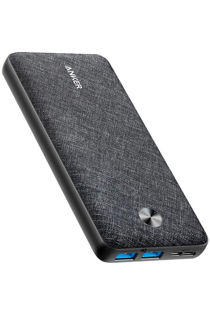 Anker PowerCore Metro 20,000 mAh External Battery - Black Fabric