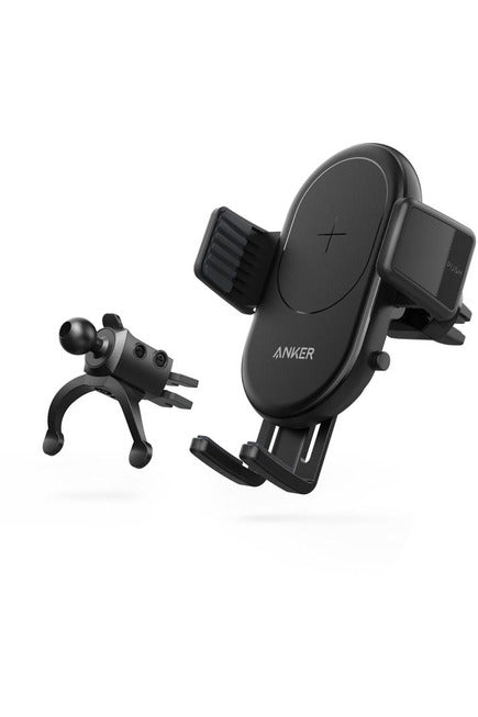 Anker PowerWave 7.5 Car Mount Wireless Charger -Black