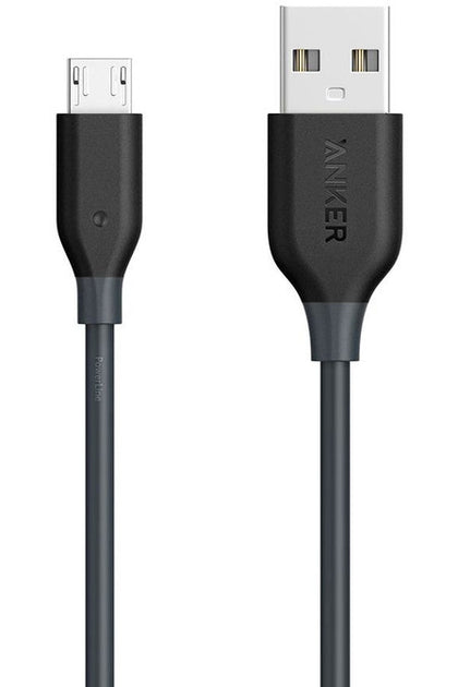 Anker Power Line Micro to USB (0.9) - Black