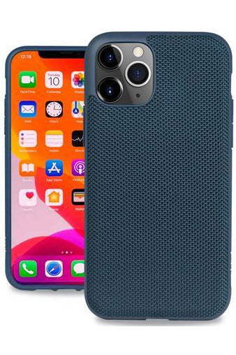 Evutec Ballistic Nylon Case with AFIX+ Mount for iPhone 11 Pro Max - Blue