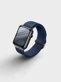 Uniq Aspen Braided Apple watch Strap 44MM - Oxford Blue