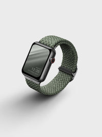 Uniq Aspen Braided Apple watch Strap 44MM - Cypress Green