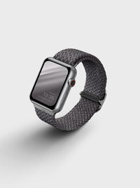Uniq Aspen Braided Apple watch Strap 44MM - Granite Gray