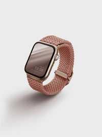 Uniq Aspen Braided Apple watch Strap 40MM - Grape Fruit Pink