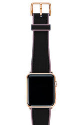 Meridio Caoutchouc -  Blue Abyss Strap 40mm (Gold)