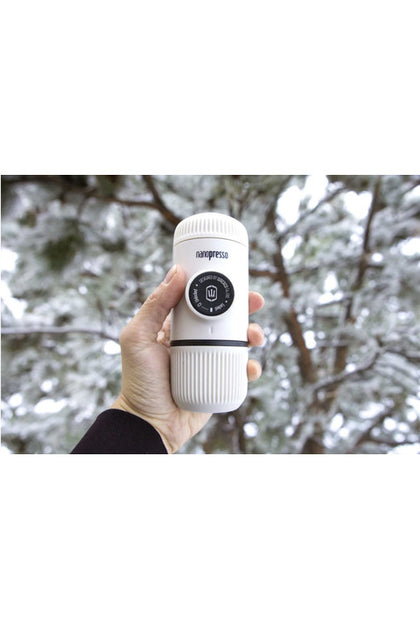 WACACO Nanopresso Elements Portable Coffee Machine+Carrying Bag+NS Adapter - Chill White - www.emarketkw.com