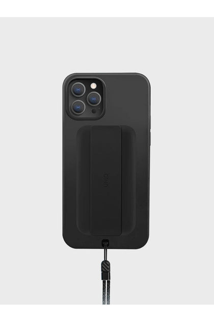 Uniq Hybrid Heldro Case For iPhone 12 Pro Max - Midnight Black