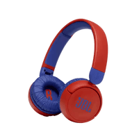 JBL Kids Wireless On-Ear Headphones with Mic - Red