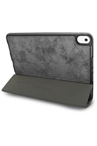 JCPal Dura Pro Protective Case With Pencil Holder iPad  ( 7 & 8 ) 10.2 inch - French Grey