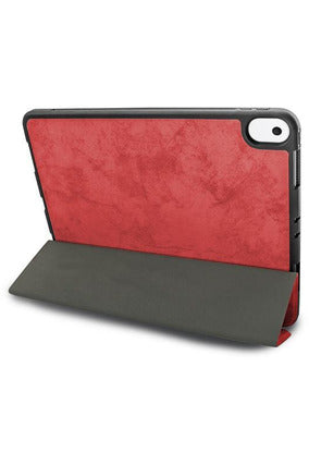 JCPal Dura Pro Protective Case With Pencil Holder iPad  ( 7 & 8 ) 10.2 inch - Mapple Red