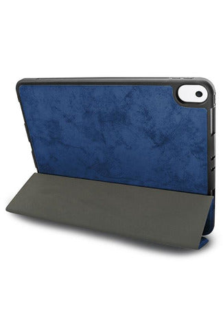 JCPal Dura Pro Protective Case With Pencil Holder iPad  ( 7 & 8 ) 10.2 inch - Sapphire Blue