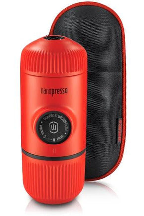 WACACO Nanopresso Elements Portable Coffee Machine+Carrying Bag+NS Adapter - Lava Red