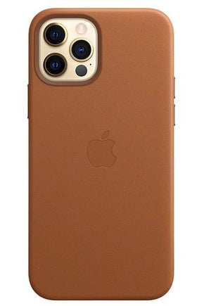 Apple iPhone 12 | 12 Pro Leather Case with MagSafe - Saddle Brown