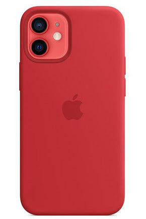 Apple iPhone 12 mini Silicone Case with MagSafe - (PRODUCT) RED