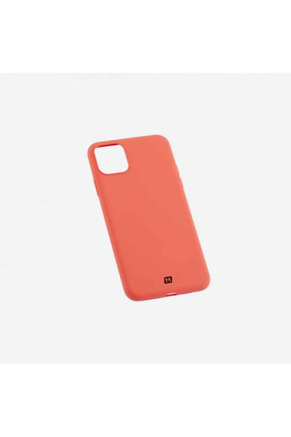Momax Silk & Softy Silicone 2.0 Case IPhone 11 Pro- Orange (MSAP19SO) - www.emarketkw.com