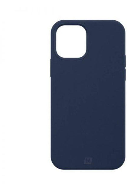 MOMAX  iPhone 12/12 Pro -2020 Silicone Case (Anti-Bacterial ) –Blue