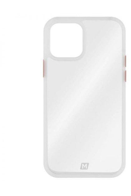 MOMAX iPhone 12/12 Pro -2020 Hybrid Case Anti-Bacterial  – Transprent