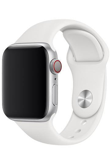 Apple 40mm White Sport Band Starp For Apple Watch - Regular (MTP52FE/A) - www.emarketkw.com