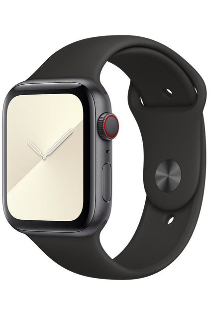 44MM Black Sport Band - Regular For Apple Watch