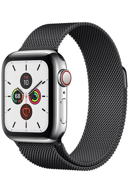 Apple Watch Series 5 GPS+CELLULAR 40MM Space Black Stainless Steel Case with Milanese Loop