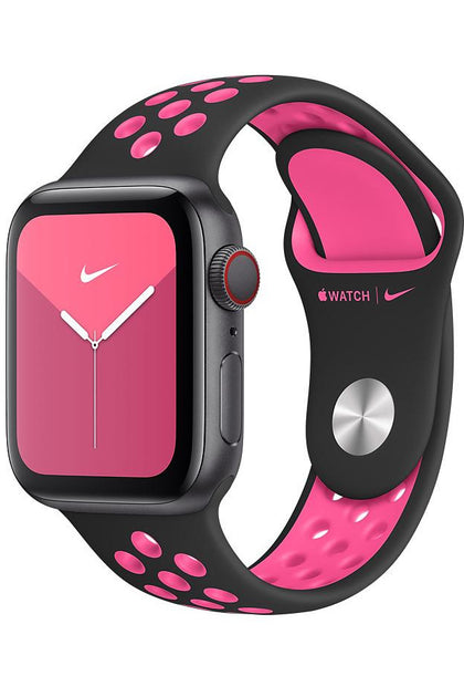 40MM Black/Pink Blast Nike Sport Band for Apple watch – Regular