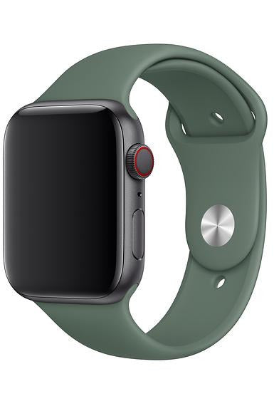Apple 44-mm Pine Green Sport Band Strap For Apple Watch — Regular  (MWUV2FE/A) - www.emarketkw.com
