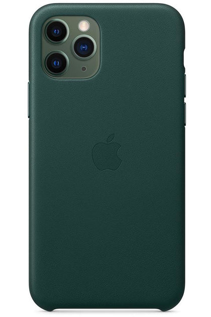 iPhone 11 Pro Leather Case Forest Green MWYC2FE/A - www.emarketkw.com