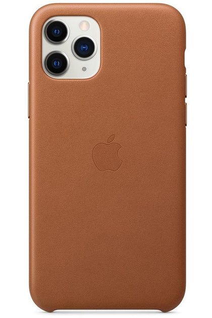 iPhone 11 Pro Leather Case Siddle Brown MWYD2FE/A - www.emarketkw.com