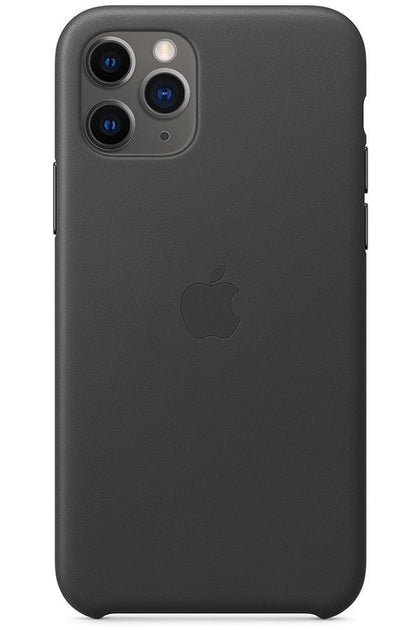iPhone 11 Pro Leather Case Black MWYE2FE/A - www.emarketkw.com