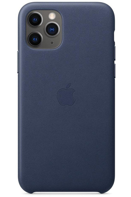 iPhone 11 Pro Leather Case Midnight Blue MWYG2FE/A - www.emarketkw.com