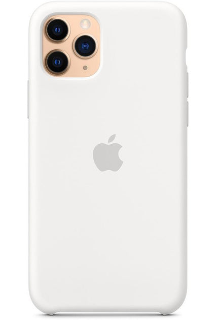 iPhone 11 Pro Silicone Case White MWYL2FE/A - www.emarketkw.com