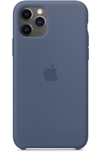 iPhone 11 Pro Silicone Case - Alaskan Blue