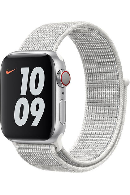 Apple 40mm Summit White Nike Sport Loop Band for Apple watch