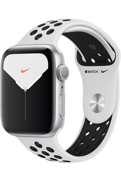 Apple Watch Nike Series 5 (Only GPS) 40MM Silver Aluminum Case with Nike Sport Band Pure Platinum/Black