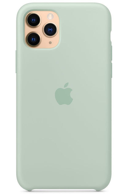 iPhone 11 Pro Max Silicone Case - Beryl