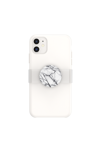 Popsocket PGS - PopPopGrip Slide Clear as Day Iphone 11