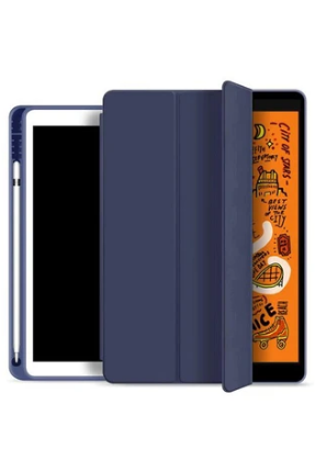 JCPAL Dura Pro Ultra Thin Case With Pencil Holder 10.2inch . Navy Blue (JCP5293) - www.emarketkw.com