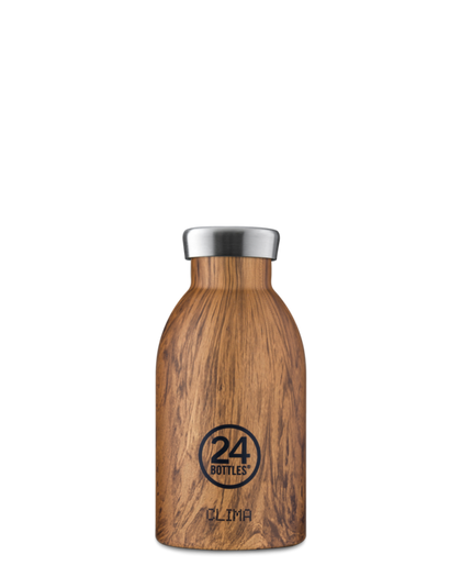 24bottles Clima 330ML Sequoia Wood