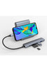 HyperDrive BAR 6-in-1 USB-C Hub for iPad Pro, MacBook Pro/Air - Silver