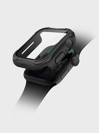 Uniq Torres Apple Watch 44MM Case with Tempered Glass 9H - Black
