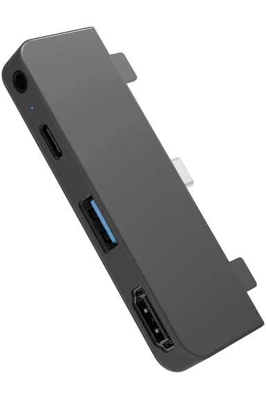 HyperDrive 4-in-1 USB-C Hub for iPad Pro 2018/2020 - Gray