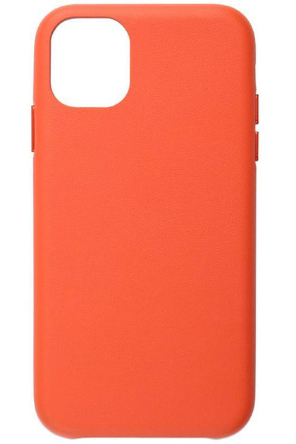 JCPAL iGUARD Series Moda Case Leather Slim Shell - iPhone 11- Coral Red