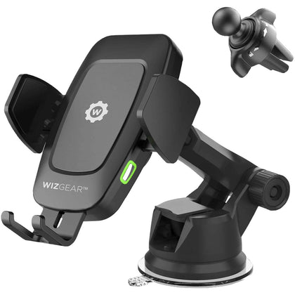 WizGear Automatic Wireless Car Charging Mount