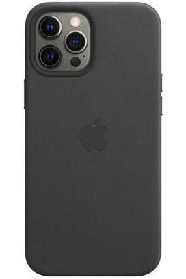 Apple Leather Case with MagSafe for iPhone 12 Pro - Black